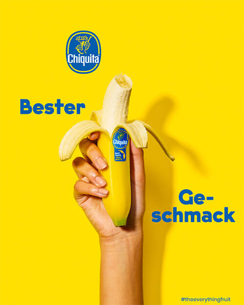 Bester Geschmack Chiquita