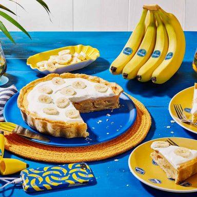 Chiquita Bananencreme-Kuchen