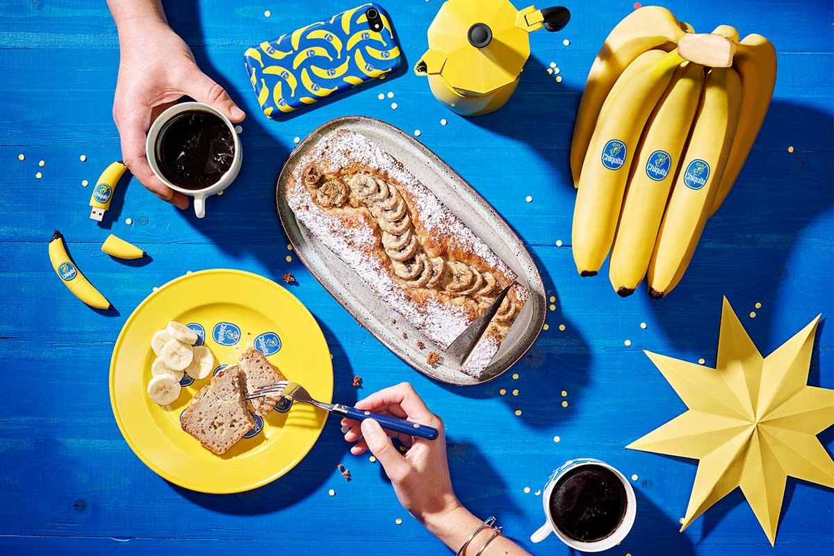 Schnelles und einfaches Chiquita Bananenbrot