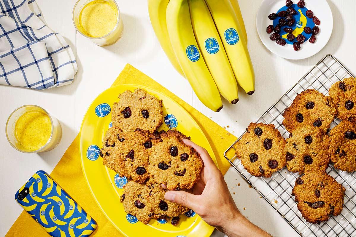 Bananen-Frühstückskekse von Chiquita