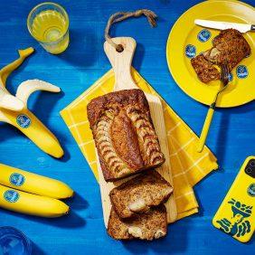 Einfaches veganes Bananenbrot von Chiquita