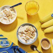 Pre Workout Mandelbutter-Bananen-Kokosnuss-Energy-Bowl  von Chiquita