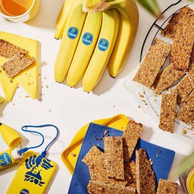 Pre Workout Bananen-Mandel-Energieriegel von Chiquita