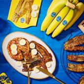 Veganer Bananenschalen-Bacon von Chiquita