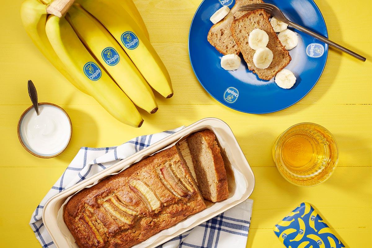 Vollkorn-Bananenbrot von Chiquita für die DASH-Diät