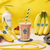 Workout-Bananen-Beeren-Eiweiß-Smoothie von Chiquita