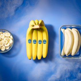 Wie friert man Bananen ein?