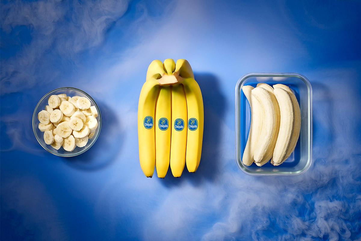 So friert man Bananen ein