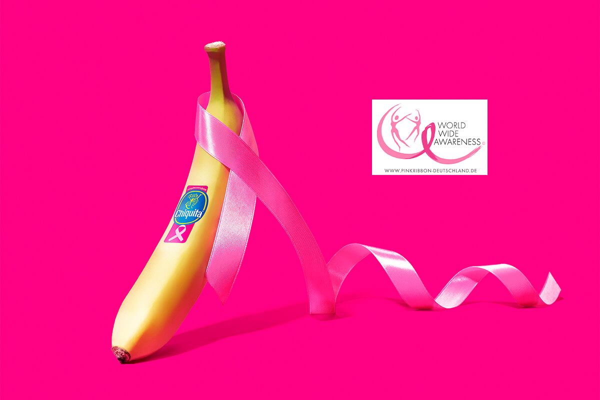 DE Chiquita Banana Pink Ribbon
