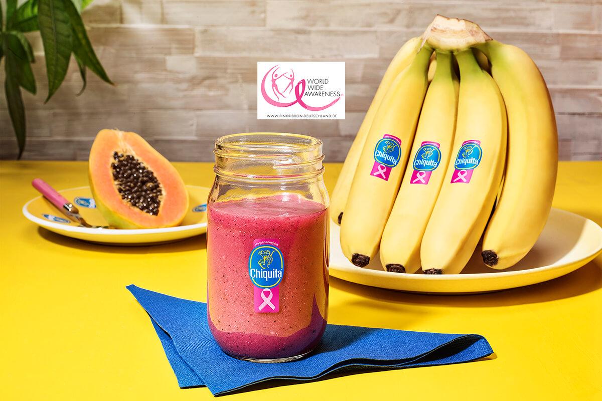 Papaya-Bananen-Smoothie mit ChiquitaBananen