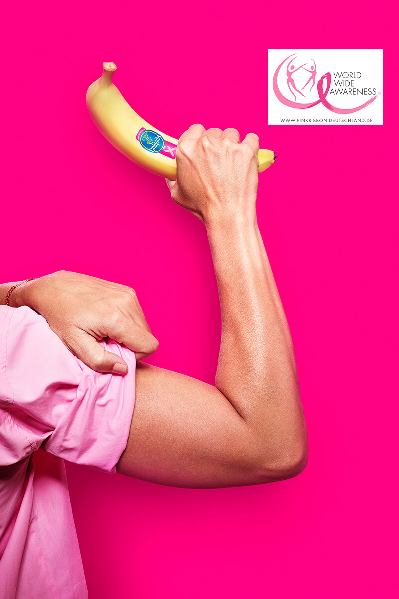 DE Pink Power Chiquita Banana